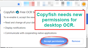 What's new: 🐟 Copyfish Free OCR Software for Chrome and Firefox