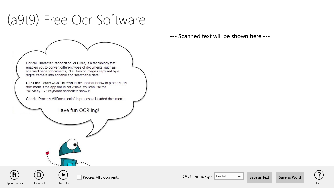 Free Ocr Software For Windows 8 1 10